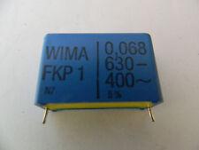 10x Wima Folien-Kondensator Kondensator FKP1 FKP 1 0,068 68nf 630V 400V 5% Neu