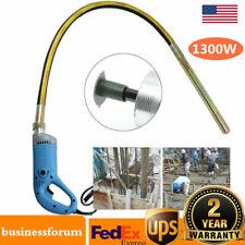 1300W Electric Power Concrete Vibrator Tool Cement Finishing Bubble Remover Usa