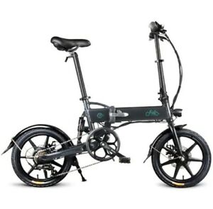 EU Stock FIIDO D2S Folding Electric Bike16-inch Tires 250W Motor Gear Shifting