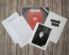 "ROGER TAYLOR Nazis 1994 Promo Press Kit 12"" Vinyl Sinle + Letters + Photo Queen"