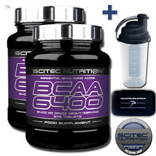 Scitec Nutrition BCAA 6400 Branched-chain Amino Acids Capsules 375 Tablets
