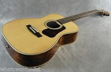 New Cort L100CK Concert Acoustic Guitar Solid Spruce Top Koa back & sides
