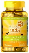 GLUCOSAMINE PLUS for Pets - Dogs & Cats - 90 Capsules, Joint Health Supplement