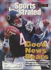 JIM HARBAUGH signed 1992 Sports Illustrated magazine (Autograph - BEARS)