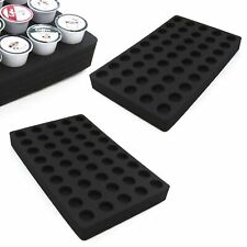 "2 Coffee Pod Storage Drawer Inserts Fits Keurig K-Cup 45 Slot 12.75"" x 20.25"""