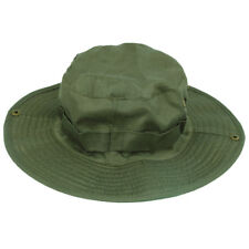 Outdoor Fishing Camping Hiking Sun Cap Round Rim Men Women Hat(Dark Green) H3Z2