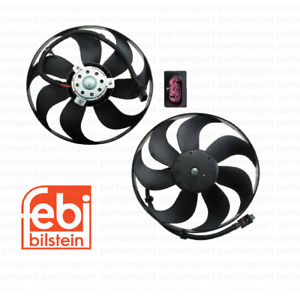 Auxiliary Fans (Left + Right) FEBI for VW GOLF / JETTA