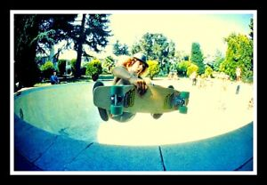 "4.75"" Tony Alva 1st Pool AIR! vinyl sticker. Vintage 70's style skateboard decal"