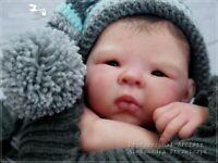 Studio-Doll Baby  Reborn  ASIAN  BOY   JIAO  by ADRIE STOETE like real baby