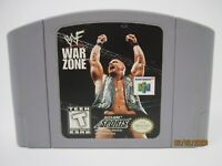 WWF War Zone - Nintendo 64 N64 Authentic Clean Polished Tested