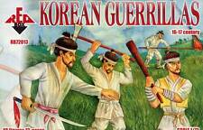 Red Box Models 1/72 KOREAN GUERRILLAS 16th & 17th Century Figure Set