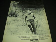 ANDY WILLIAMS Has 13 Gold Records running through field1970 PROMO POSTER AD mint