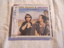 "Paul Gilbert & Jimi Kidd ""Raw blues power"" Universal Japan cd UICE-1017 W/Obi"