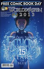 WORLDS OF ASPEN 2013 FCBD (#8) Michael Turner FATHOM,JIRNI,BUBBLE GUN,SOULFIRE