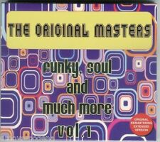 THE ORIGINAL MASTERS Funky Soul and much more vol 1 CD TRACKS EXTENDED NUOVO NEW