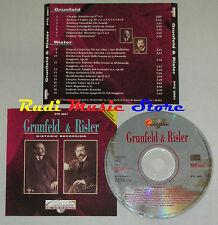 CD GRUNFELD & RISLER historic recording 1992 italy PTC 2001 lp mc dvd