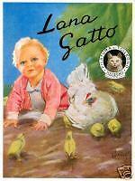 A.Bianchi-LANA  GATTO-neonato-gallina-pulcino-Rimini
