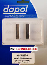 Dapol 2A-000-006 N Gauge Magnets For Magnetic Knucle Type Couplings x 1 Pair 1st