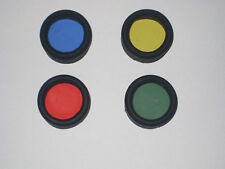 Torch Filter Red Blue Yellow OR Green 30-33mm Hunting