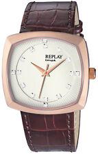 Replay Herrenuhr Armbanduhr RX8401BU Quarzuhr Replay-Box