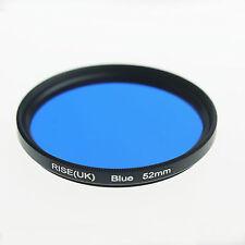 52mm 52mm Full Blue Color Conversion Lens Filter Mount for DSLR SLR Camera