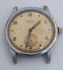 Vintage Wwii Era Parker Amphibian Military Style Screwback Watch to Restore