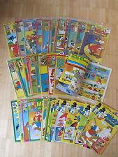Micky Vision 2. Auflage 1982  nr. 9 bis 1988 Nr 2  fast kpl. mit Sticker Beilage
