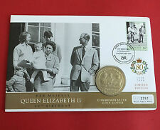 GIBRALTAR 2005 A ROYAL YEAR PROOFLIKE CROWN C  - coin cover