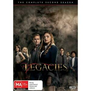Legacies The Complete Second Season 2  BRAND NEW Region 4 DVD