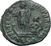 CONSTANTIUS II Constantine the Great  son 348AD Ancient Roman Coin Galley i73415