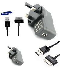 "Universel chargeur usb & authentique câble pour tablette Samsung Galaxy 10.1"" Tab 7 2 uk"