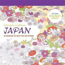 Coloring for Mindfulness: Japan : 70 Designs to Help You De-Stress by Hamlyn (2…