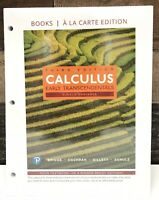 Single Variable Calculus : Early Transcendentals, Third Edition By Pearson NEW!
