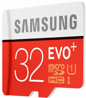 Samsung EVO PLUS 32GB Fast 95 MB/s Memory Card MicroSDHC Class 10 With Adapter