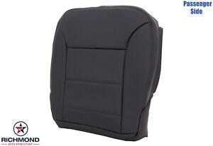 2009-2011 Benz ML320 ML350 ML450- Passenger Side Bottom Leather Seat Cover Black