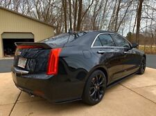 Cadillac ATS 2/4 Door Side Skirt Extensions And Rear Bumper Extension Splitters