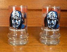 1984 Taco Bell Star Trek lll Search For Spock LORD-KRUGE Glass...Set Of 2