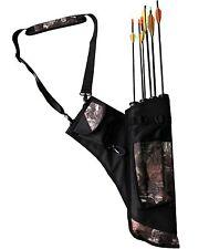 Camo Bow Bag Archery Arrow Quiver Traditional Archery Supplies Pouch for Arrows