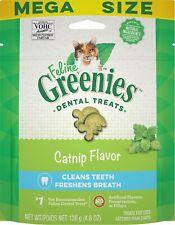 Feline Greenies Dental Treat Catnip 4.6oz    Free Shipping