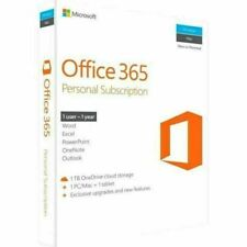 Microsoft Office 365 Personal 1-year Subscription Licence for 1 Device