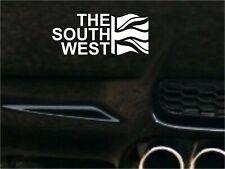 THE SOUTH WEST  FLAG Car Decal Sticker JDM VW DUB VAG Euro Race Drift Funny Surf