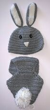So 'Dorable Newborn 0-6 Months Baby Hat Diaper Cover Bunny Costume Photo Prop