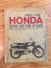 Honda Harold T Glenn Maintenance Repair Tune-Up Book 50cc 65cc 90cc C-100 C-200