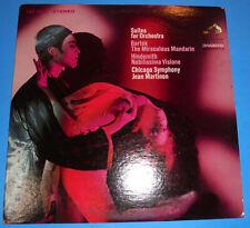 Hear STEREO LP RCA LSC 3004 BARTOK MIRACULOUS MANDARIN HINDEMITH MARTINON CHICAG