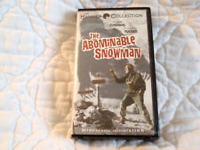 The Abominable Snowman Vhs Ws Peter Cushing Forrest Tucker 50'S Hammer Horror