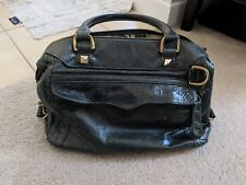 Authentic Rebecca Minkoff Mini MAB Morning After Bag Leather Emerald Green