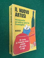 IL NUOVO ARTUSI - LA SCIENZA CUCINA ARTE MANGIAR BENE Mursia (1979)Libro Ricette