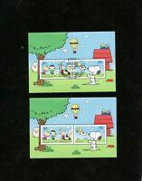 BRD 2018 Bund Zeichentrick Comics Peanuts Mi 3369 - 3370 Block 82 ** + ESST BONN