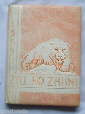1953 GALLUP HIGH SCHOOL YEARBOOK, GALLUP, NEW MEXICO  ZILL HO ZHUNI
