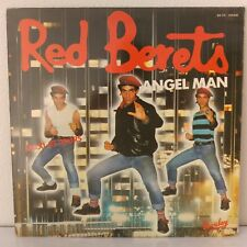 "Red Berets Featuring Rhetta Hughes ‎– Angel Man (Vinyl, 12"", MAXI 45 Tours)"